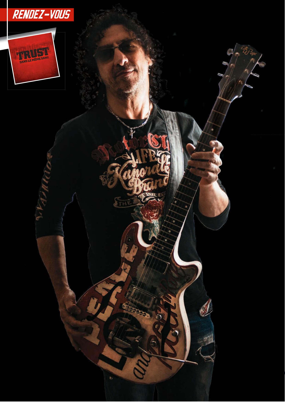 NORBERT KRIEF (Trust) Interview sur Guitar XTREM 87 (archive) Guitar11