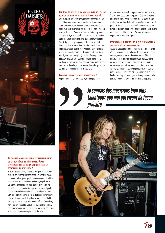Interview DOUG ALDRICH dans Guitar EXTREM 87 Juillet/Août 2018 (archive) Guitar18