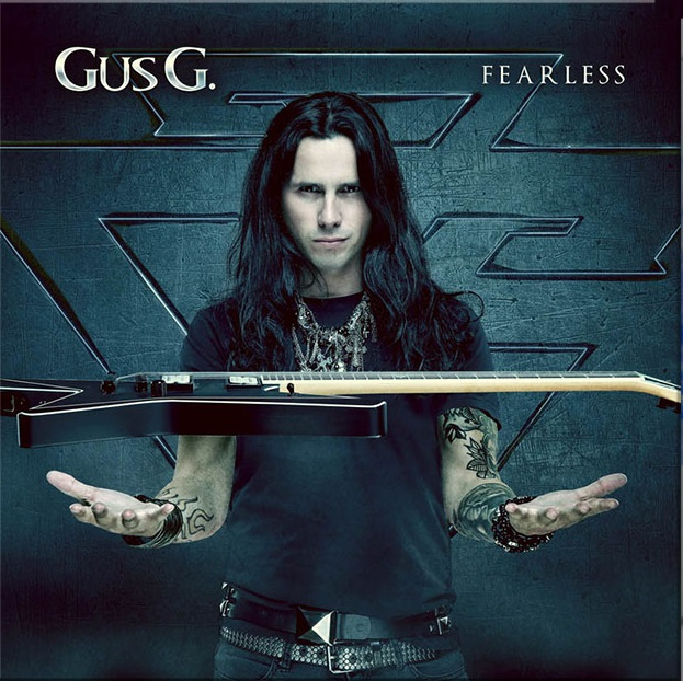 GUS G. Fearless (2018) Heavy/Power Grèce Gusgfe10