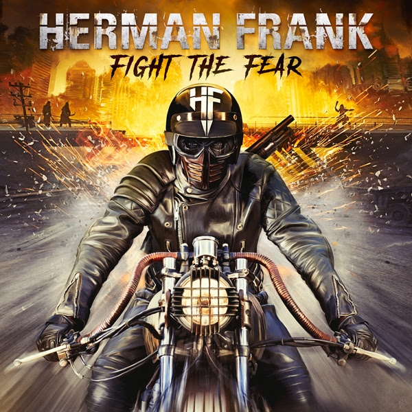 HERMAN FRANK Fight The Fear (2019) Heavy Metal ALLEMAGNE Herman10