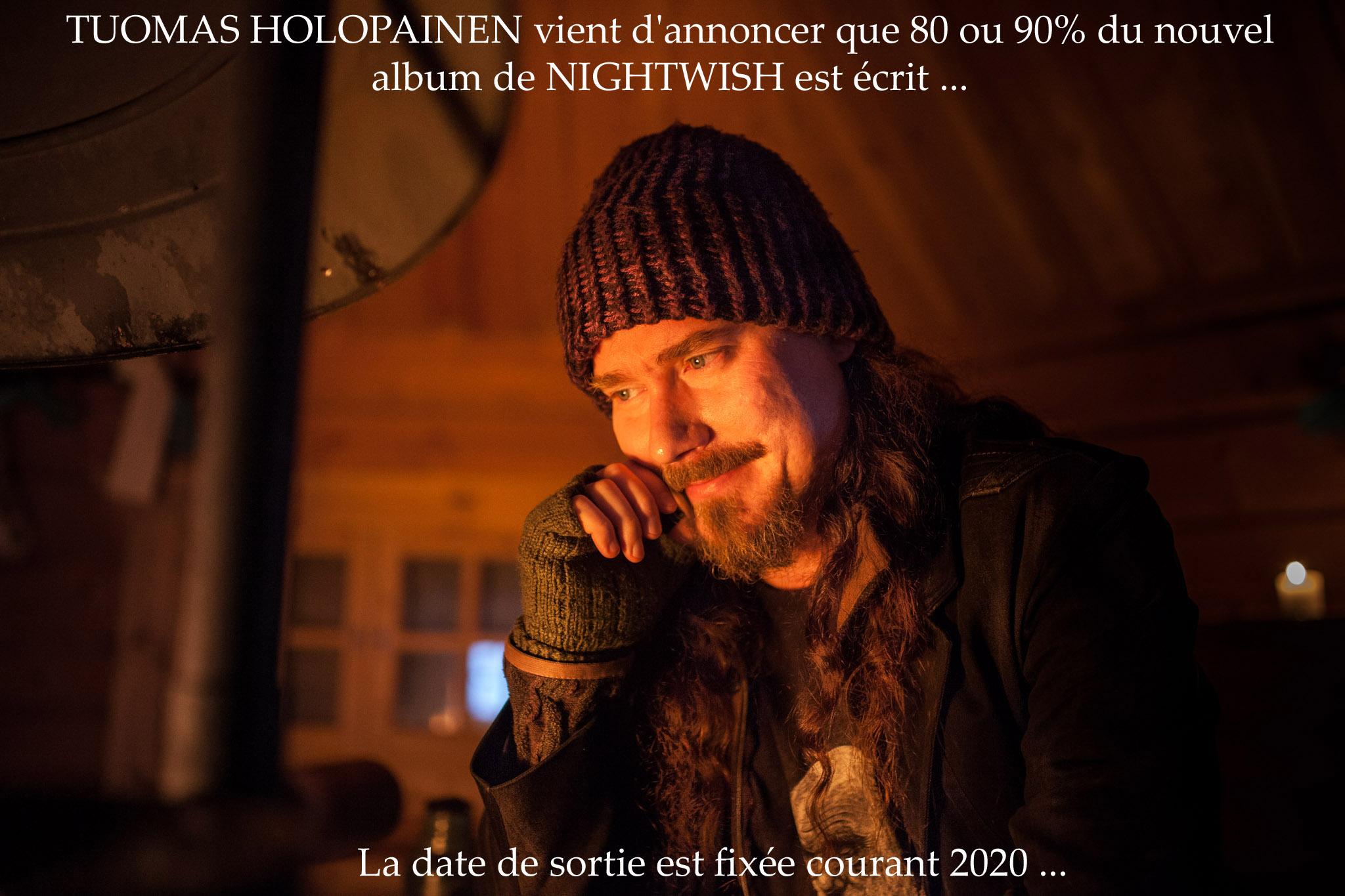 TUOMAS HOLOPAINEN (Nightwish) parle du nouvel album ... Holopa10