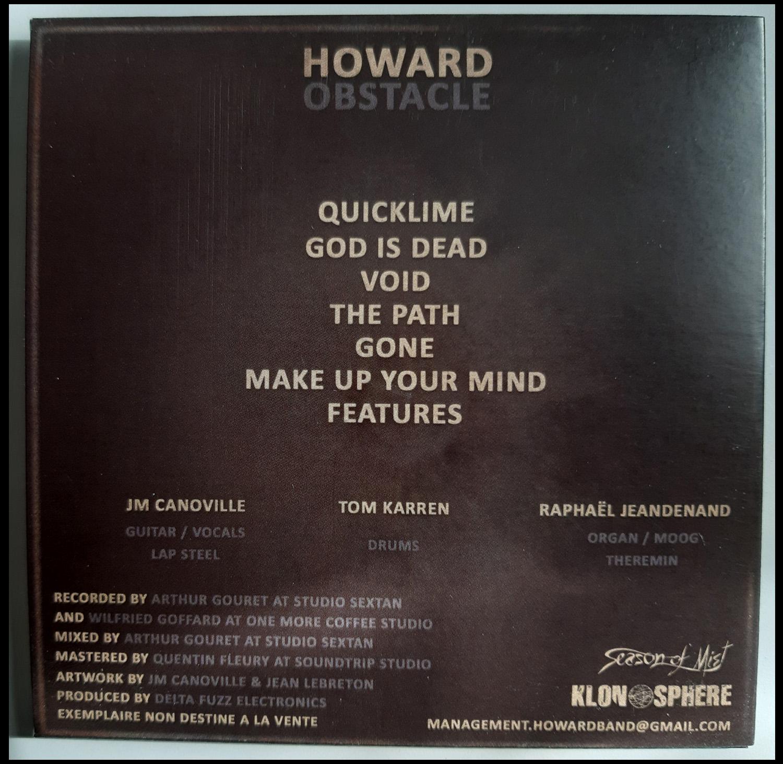 Les sorties chez KLONOSPHERE c'est ici ...  Howard11
