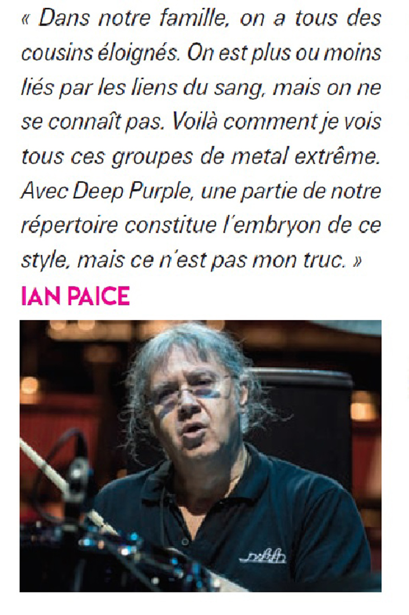 IAN PAICE (Deep Purple) a dit ... sur le métal extrême Ian_pa10
