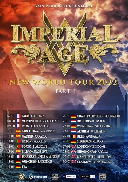 IMPERIAL AGE Demons Are a Girl's Best Friend (2021) Cover POWERWOLF  Imperi10