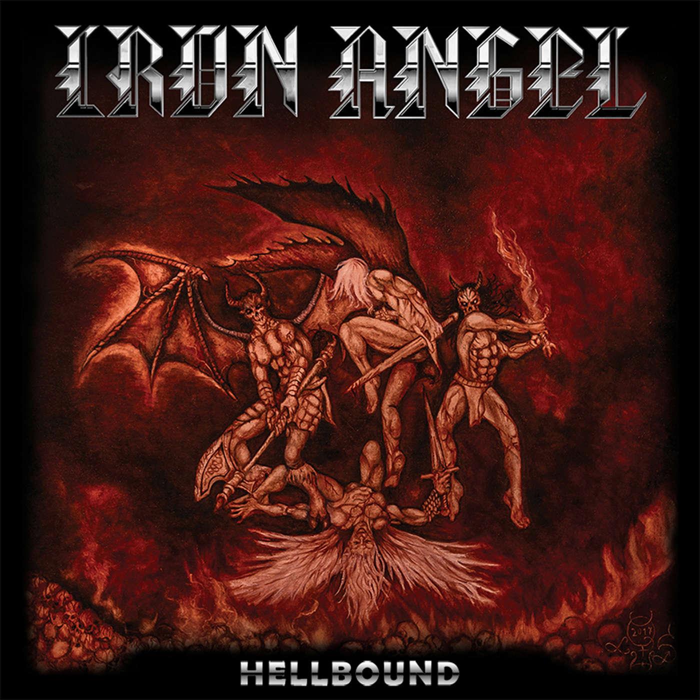 IRON ANGEL Hellbound (2018) Speed Metal Allemagne Iron-a10