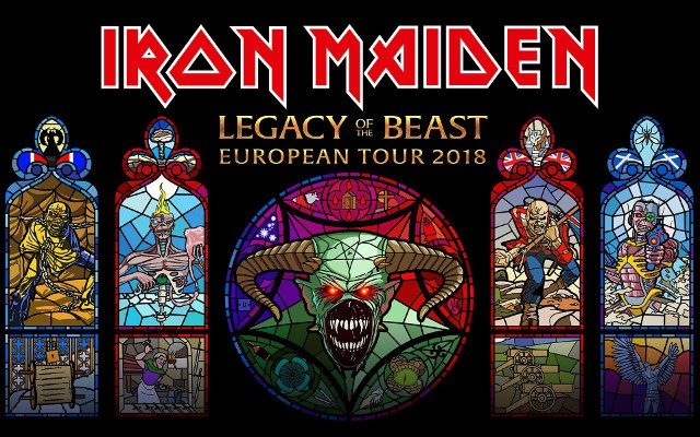 "IRON MAIDEN fait les choses en grand pour sa tournée mondiale ""Legacy Of The Beast"" Iron-m11"