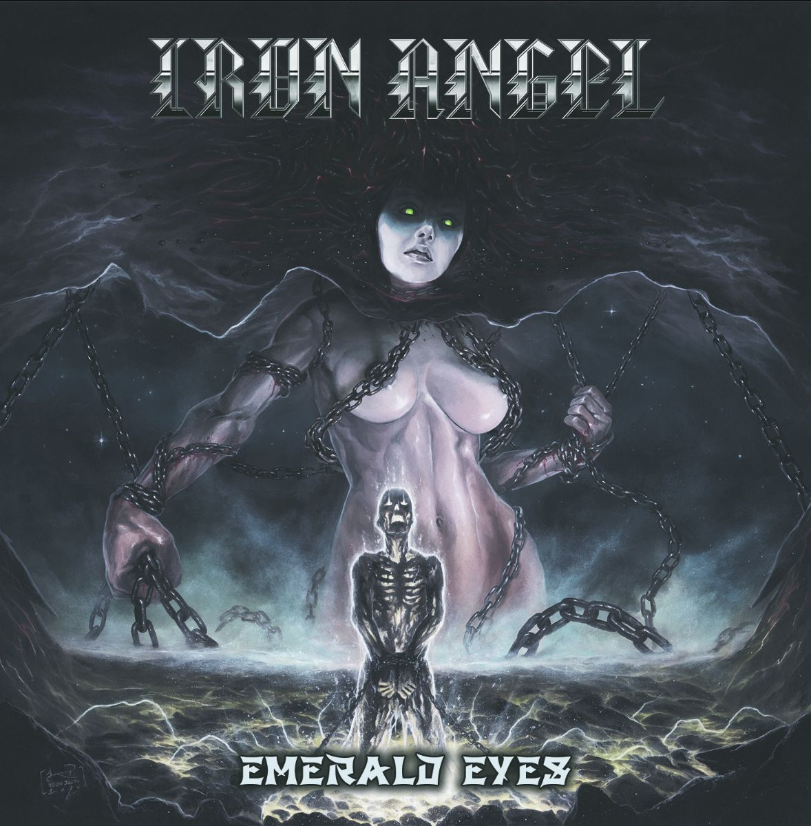 IRON ANGEL Emerald Eyes (2020) Speed Metal Allemagne Iron_a10