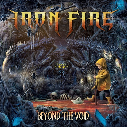 IRON FIRE Beyond The Void (2019) Heavy-Metal Danemark Iron_f10