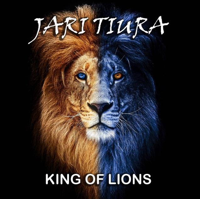 JARI TIURA King Of Lions (2018) Hard Rock FINLANDE Jariti10