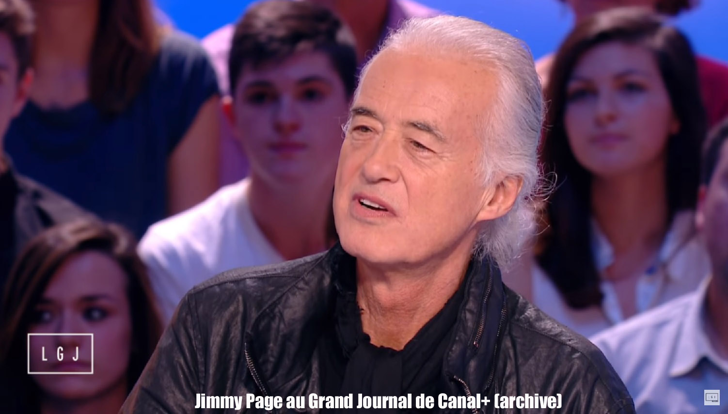 Jimmy Page en interview au GRAND JOURNAL sur Canal+ (archive) Jimi_10