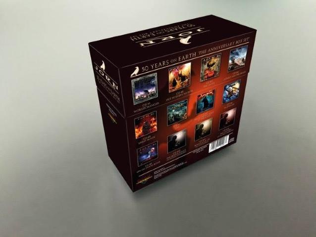 Coffret Ultimate JORN. '50 Years On Earth' Le coffret anniversaire ... Jorn5011