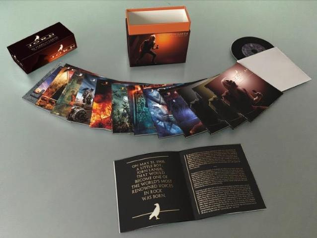 Coffret Ultimate JORN. '50 Years On Earth' Le coffret anniversaire ... Jorn5012