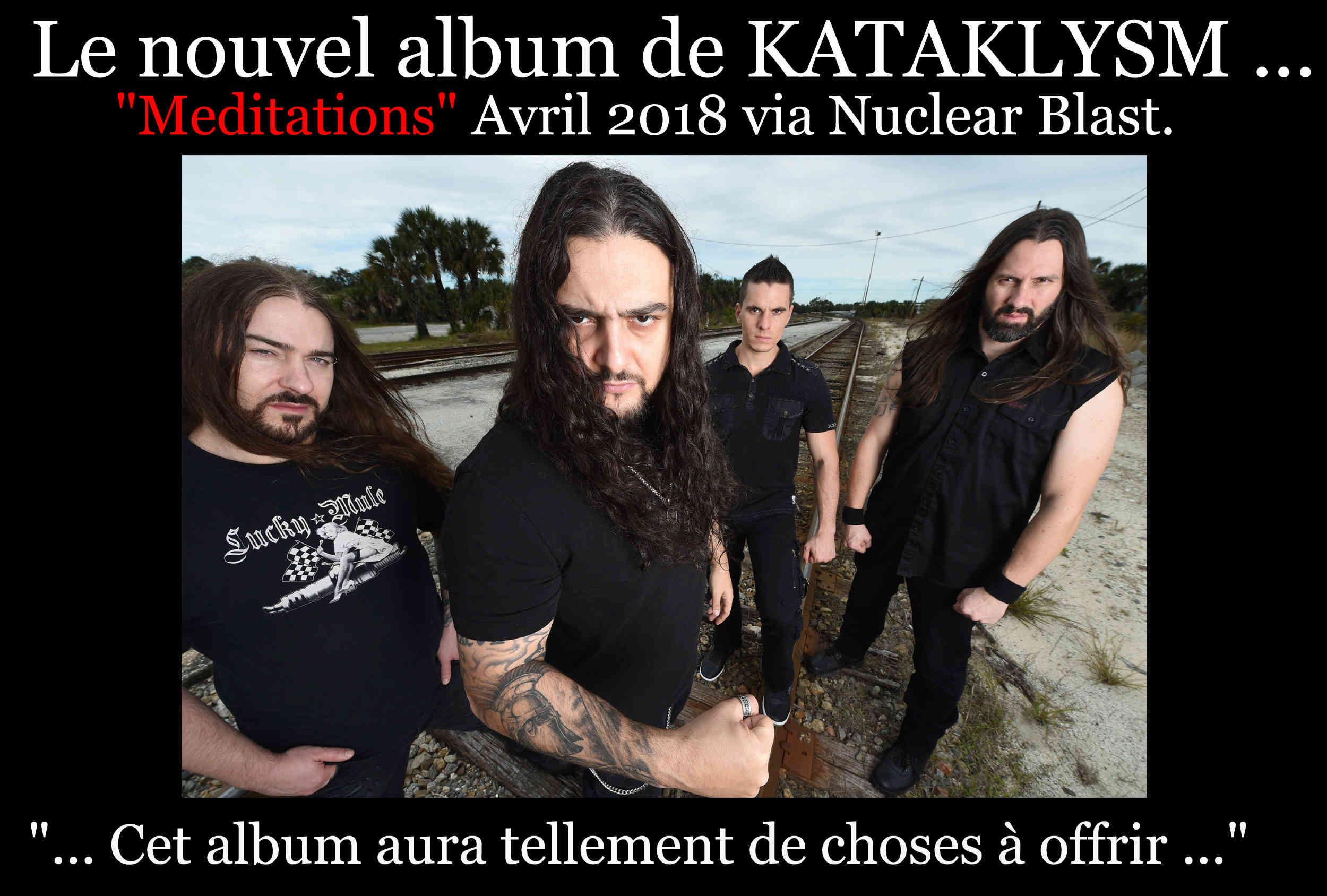 KATAKLYSM Meditations (2018) Death Metal CANADA Katra10