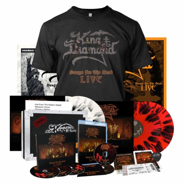 KING DIAMOND Songs For The Dead Live (2019) Heavy Metal Danemark Kingdi11