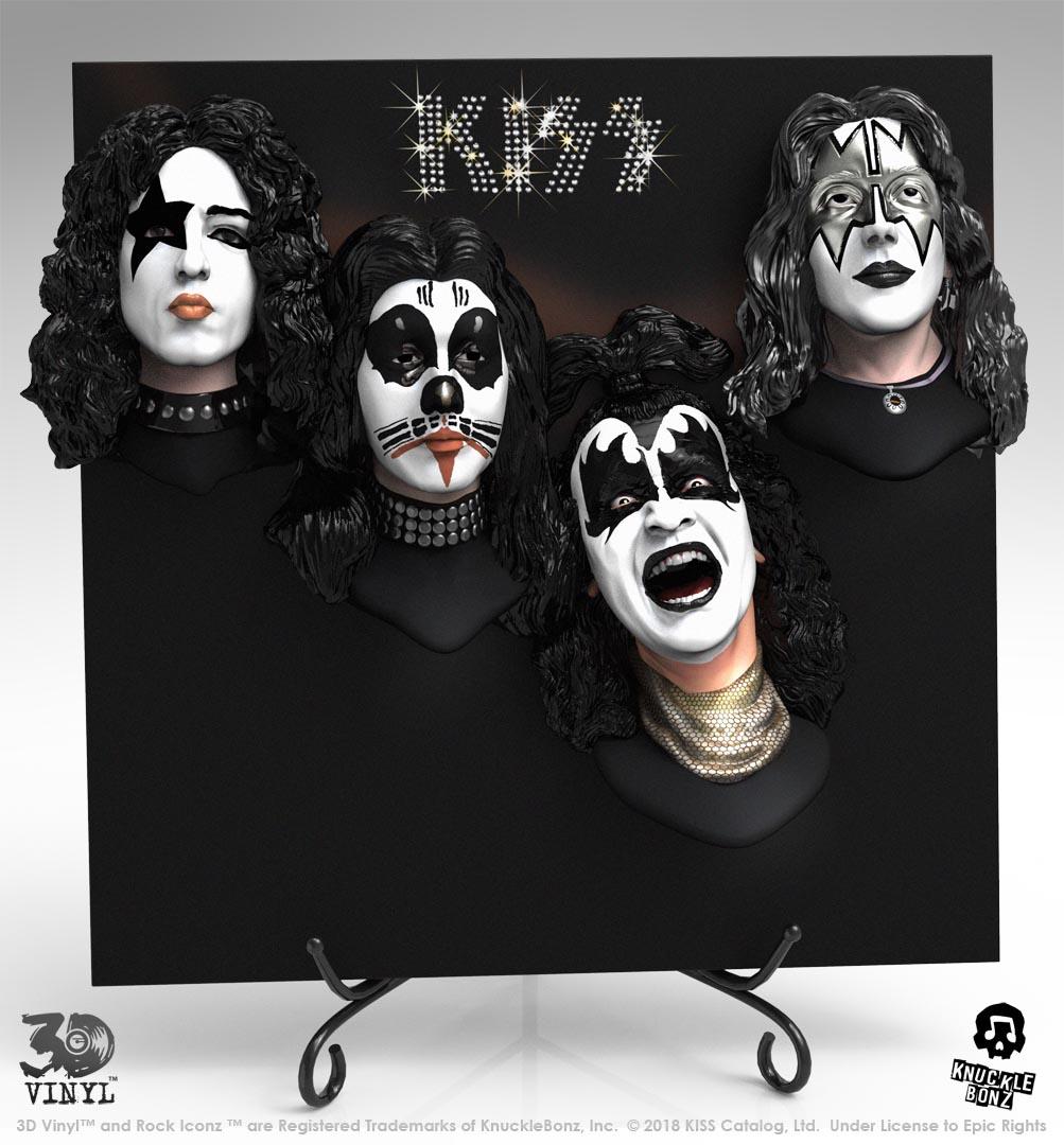 KISS en vinyle 3D et c'est plutôt réussi ... Kiss-d12