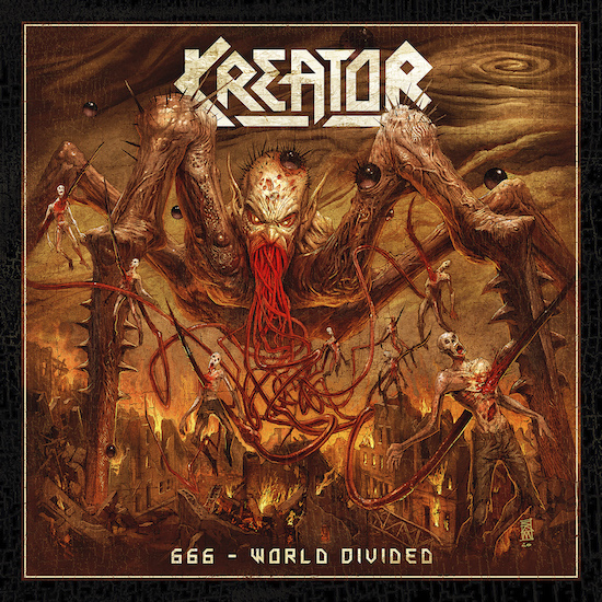 "KREATOR : un single surprise nommé ""666 - World Divided"" ! Kreato15"