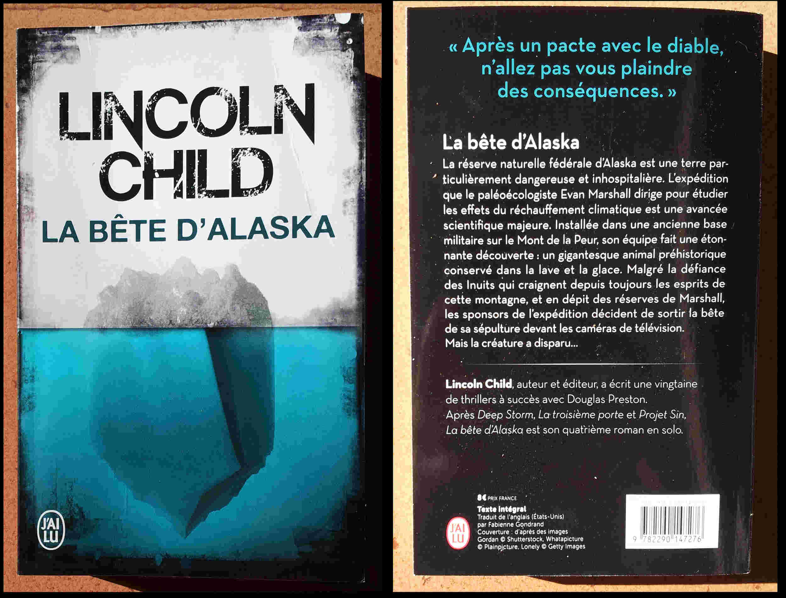 La bête d'Alaska de Lincoln Child (2016) La_bya10