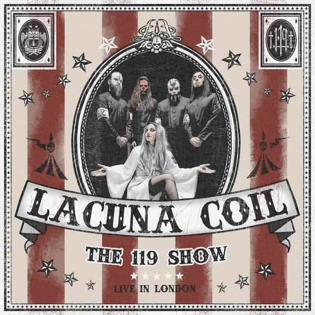 LACUNA COIL The 119 Show – Live In London (2018) CD/DVD Lacuna11