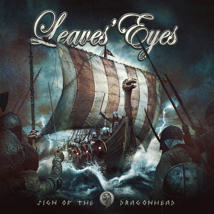 LEAVES 'EYES Sign of the Dragonhead (2018) Metal Symphonic  Leaves10