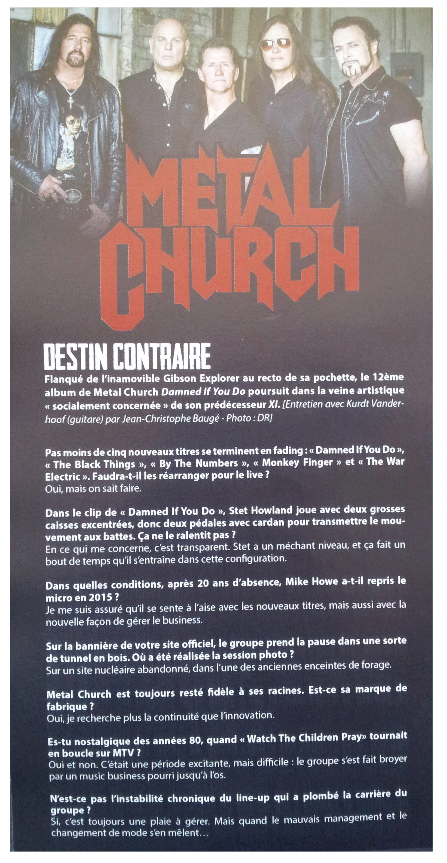 METAL CHURCH Damned If You Do (2018) Heavy/Speed USA Legion17