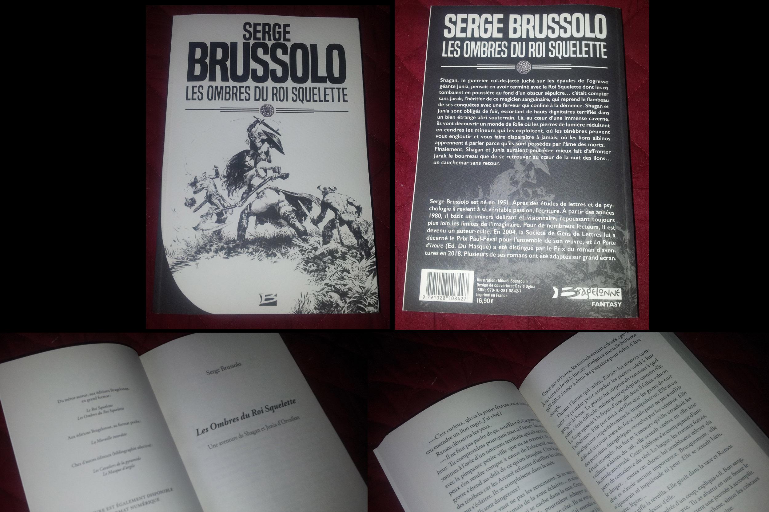 LES OMBRES DU ROI SQUELETTE Serge Brussolo (2019) Roman Les_om10