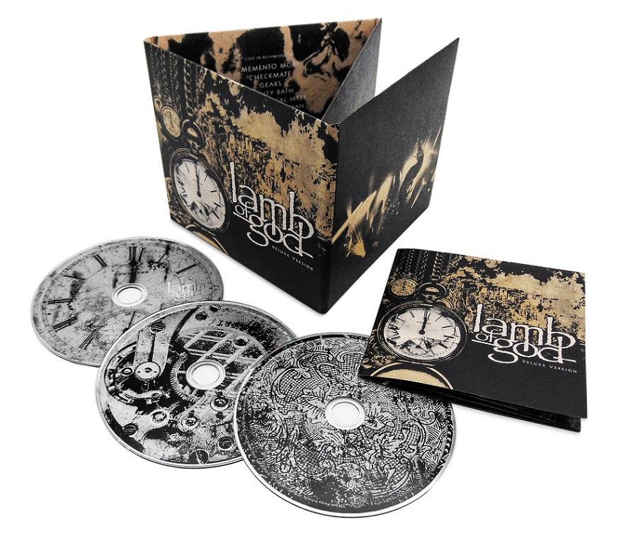 LAMB OF GOD réédition (2 CD + 1 DVD) de l'album éponyme le 26 mars via Epic Records Log_de10