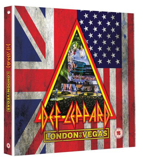 DEF LEPPARD Hysteria sort en direct sur Blu-ray, DVD, CD et coffrets ... London10