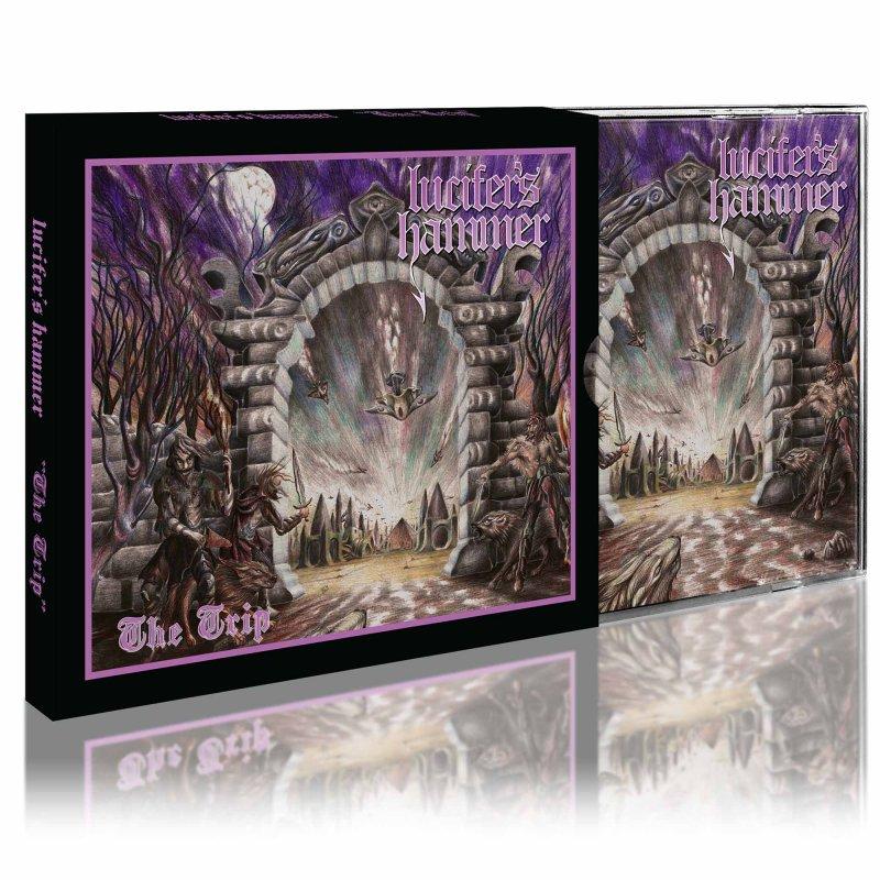 LUCIFER'S HAMMER The Trip (2021) Heavy Metal Chili Lucife11