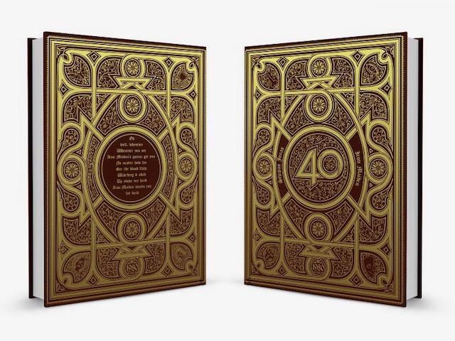 Un livre en cuir pour les 40 ans du 1er album d'IRON MAIDEN ... Maidle10