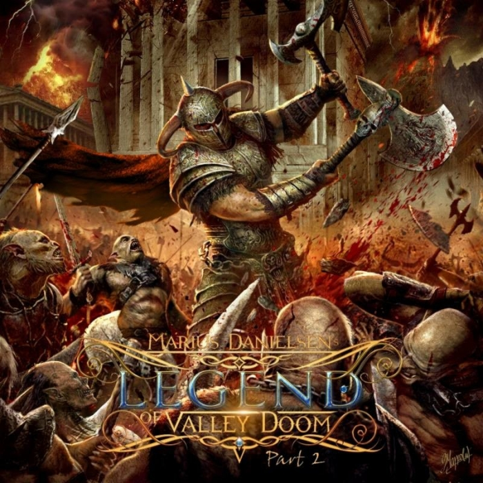 MARIUS DANIELSEN The Legend of Valley Doom Part 2 (2018) Metal Symphonic  Marius10