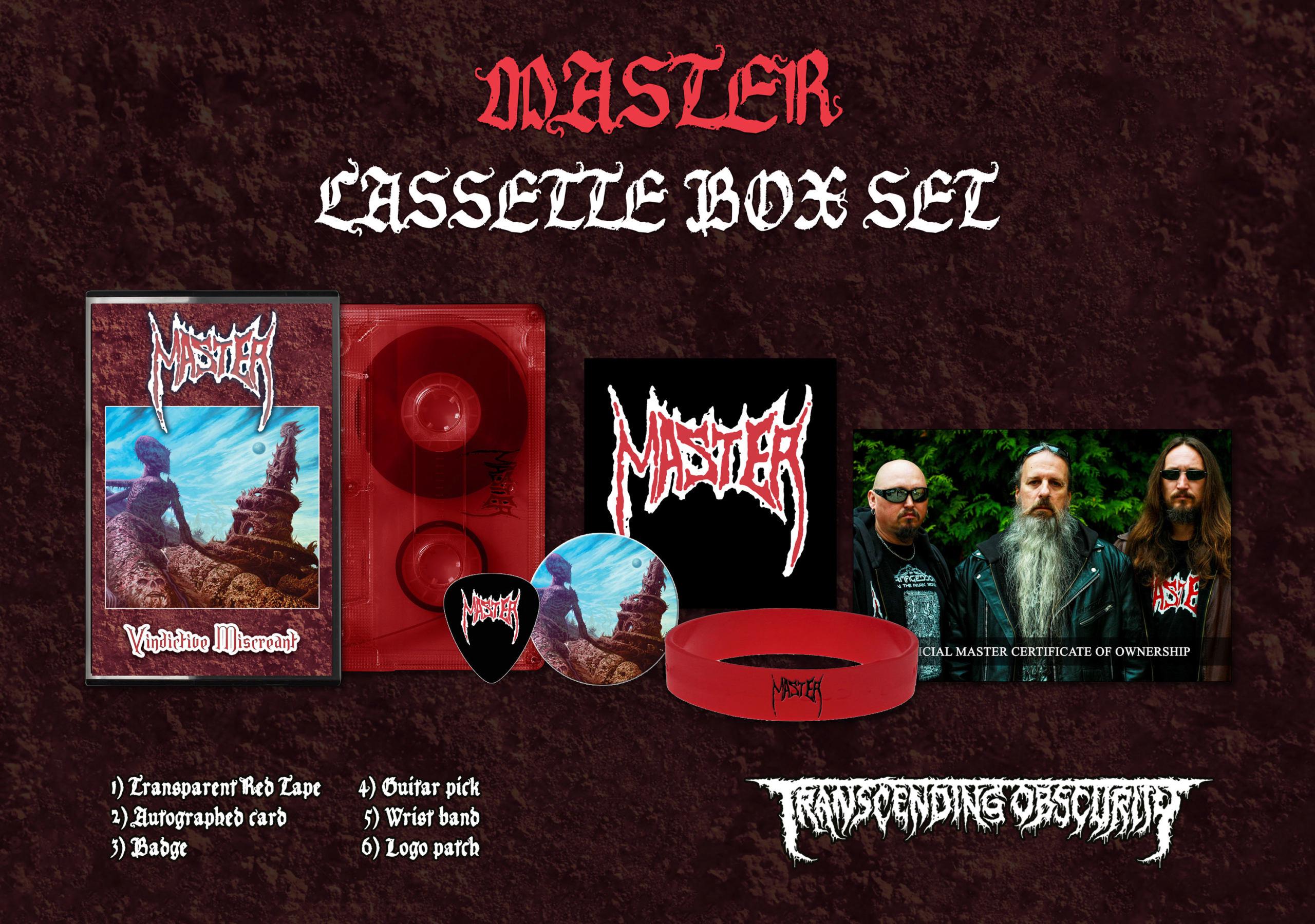 MASTER Vindictive Miscreant (2018) Death USA Master10