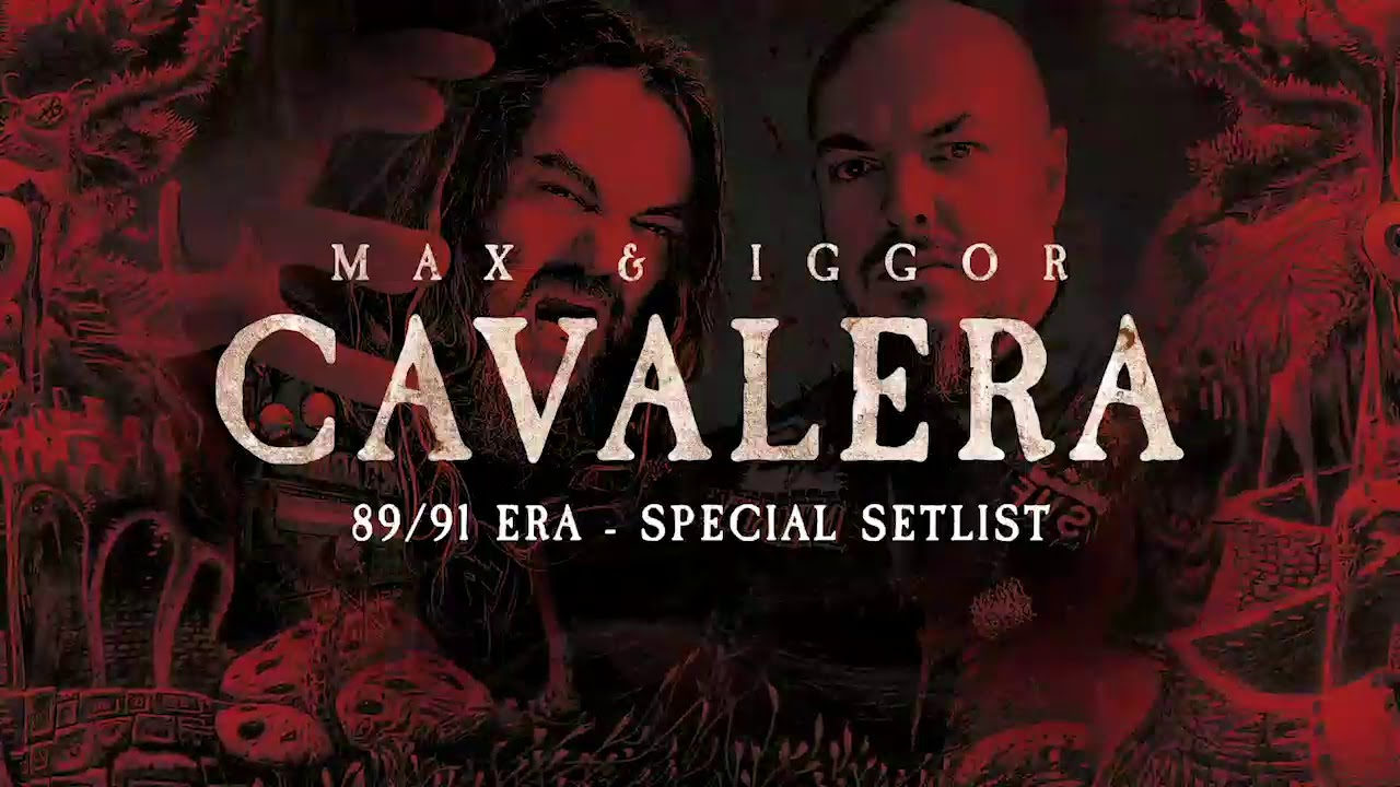 MAX et IGGOR CAVALERA Beneath The Remains & Arise Tour. Live in Minsk. Belarus 05 Octobre 2018 Maxres23