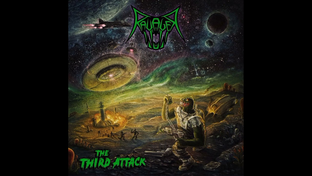 RAVAGER The Third Attack (2021) Thrash Allemagne Maxres34
