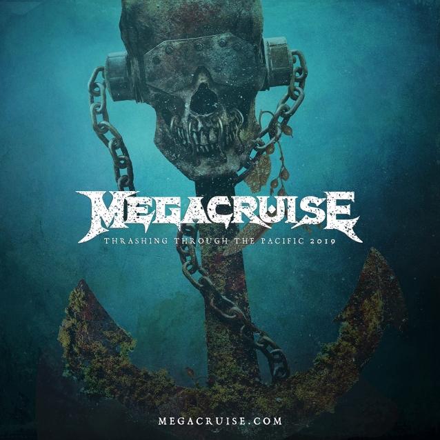 La croisière-concert de MEGADETH ... Megacr12