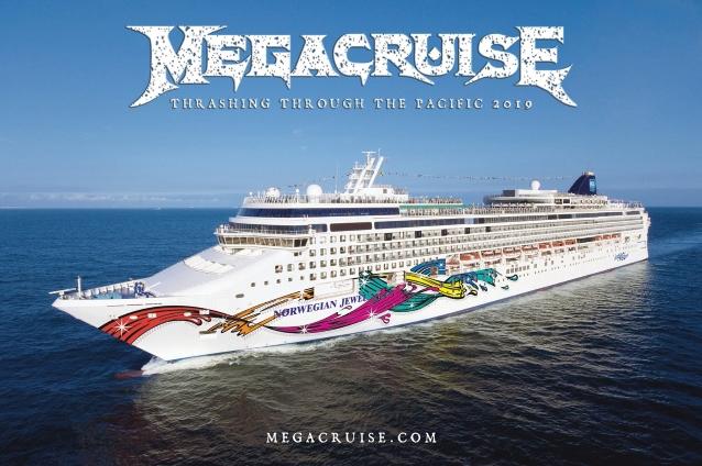 La croisière-concert de MEGADETH ... Megacr13