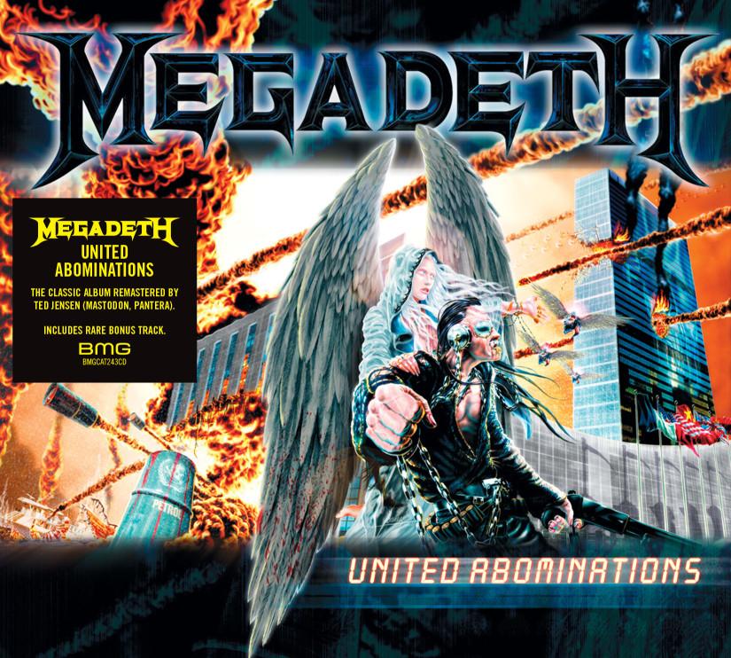 Trois rééditions de Megadeth sont attendues pour le 29 Juillet 2019 ... Megade17