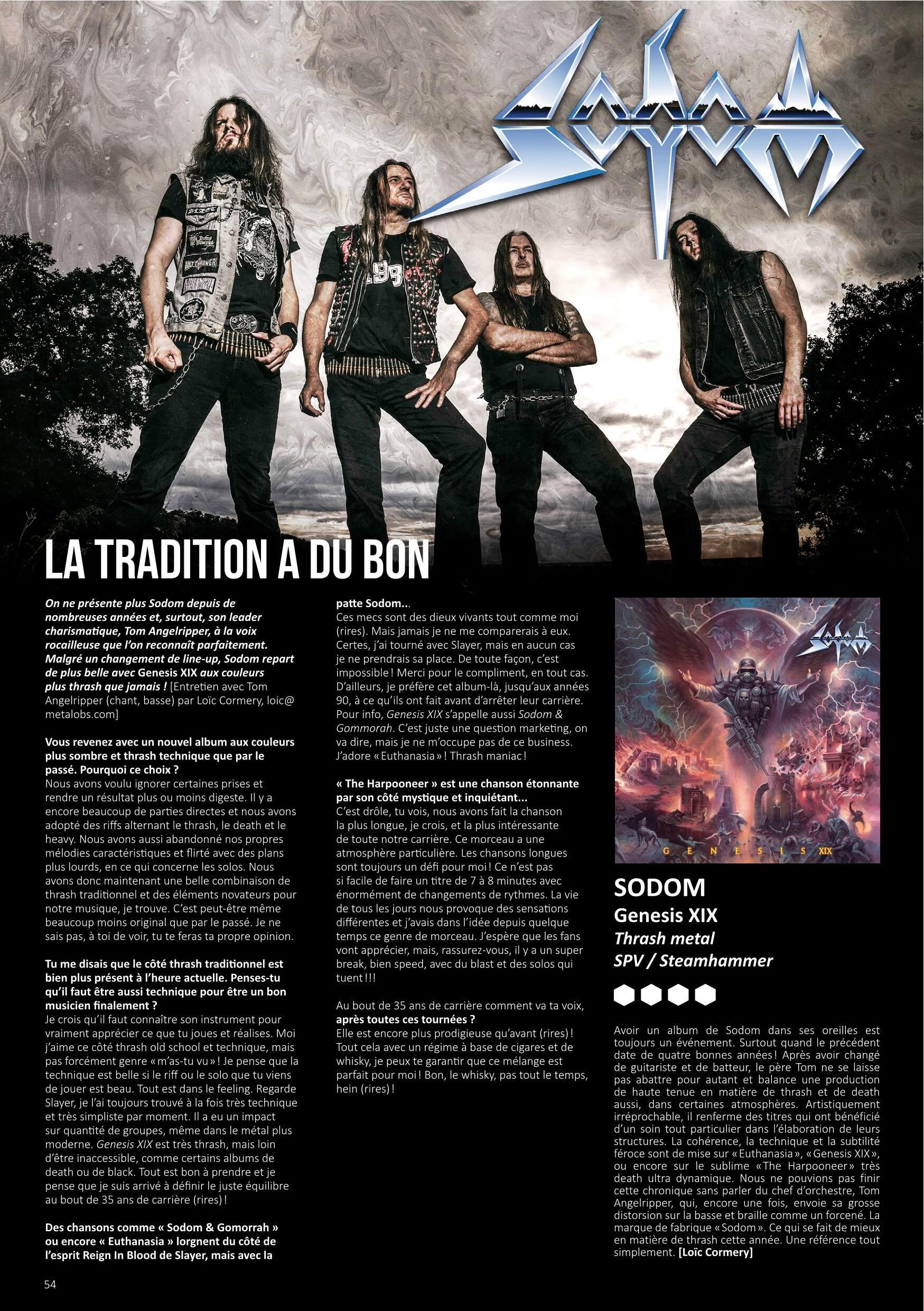SODOM en studio pour un album cette année ... / sortie le 27 novembre ! Metal-13