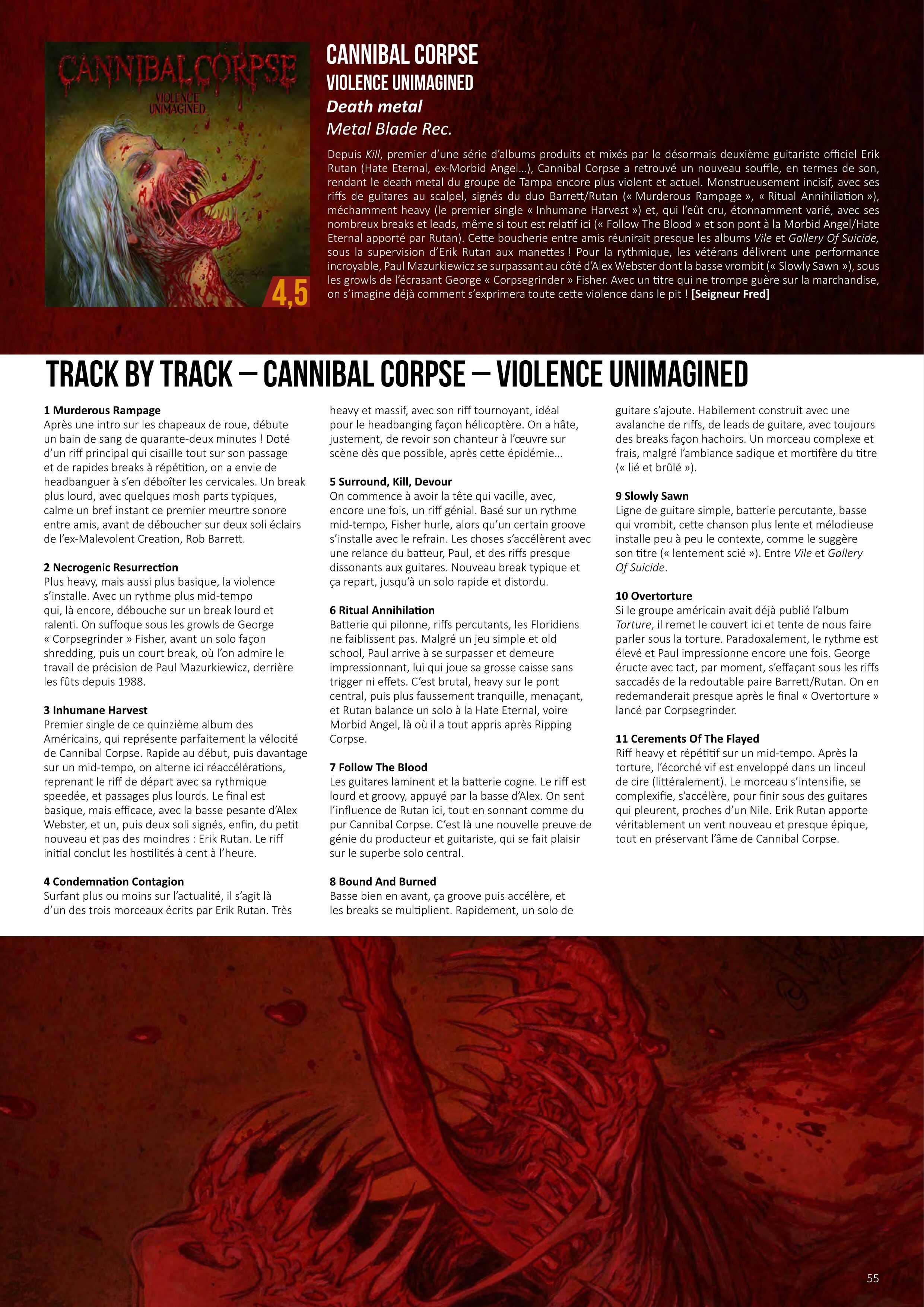 "CANNIBAL CORPSE (Death Metal / USA) - ""Violence Unimagined"" en pré-commande Metal-25"