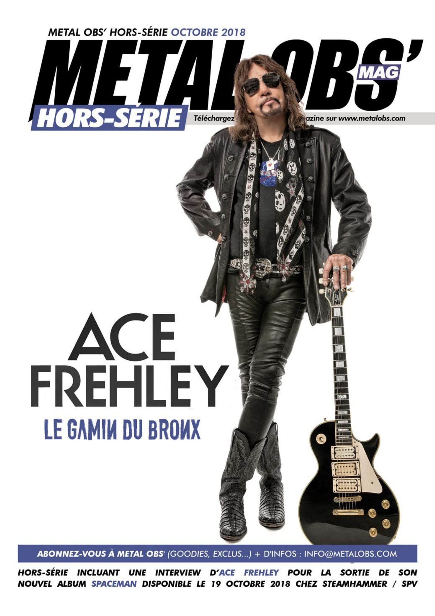 ACE FREHLEY Spaceman (2018) Hard-Rock  Metalo11