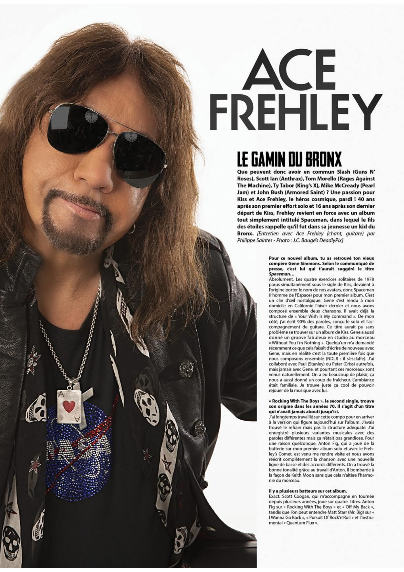 ACE FREHLEY Spaceman (2018) Hard-Rock  Metalo12