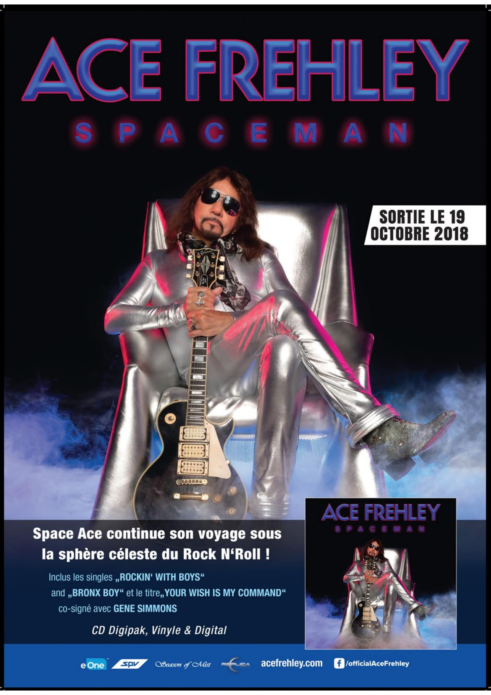 ACE FREHLEY Spaceman (2018) Hard-Rock  Metalo14