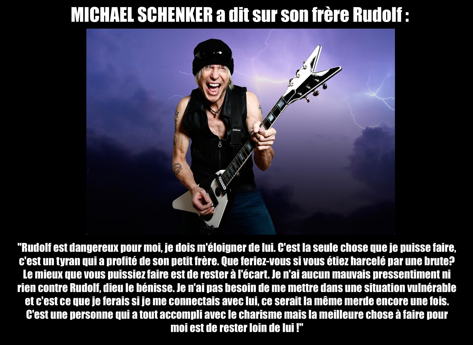 MICHAEL SCHENKER a dit ... sur son frère Rudolf  Michae10