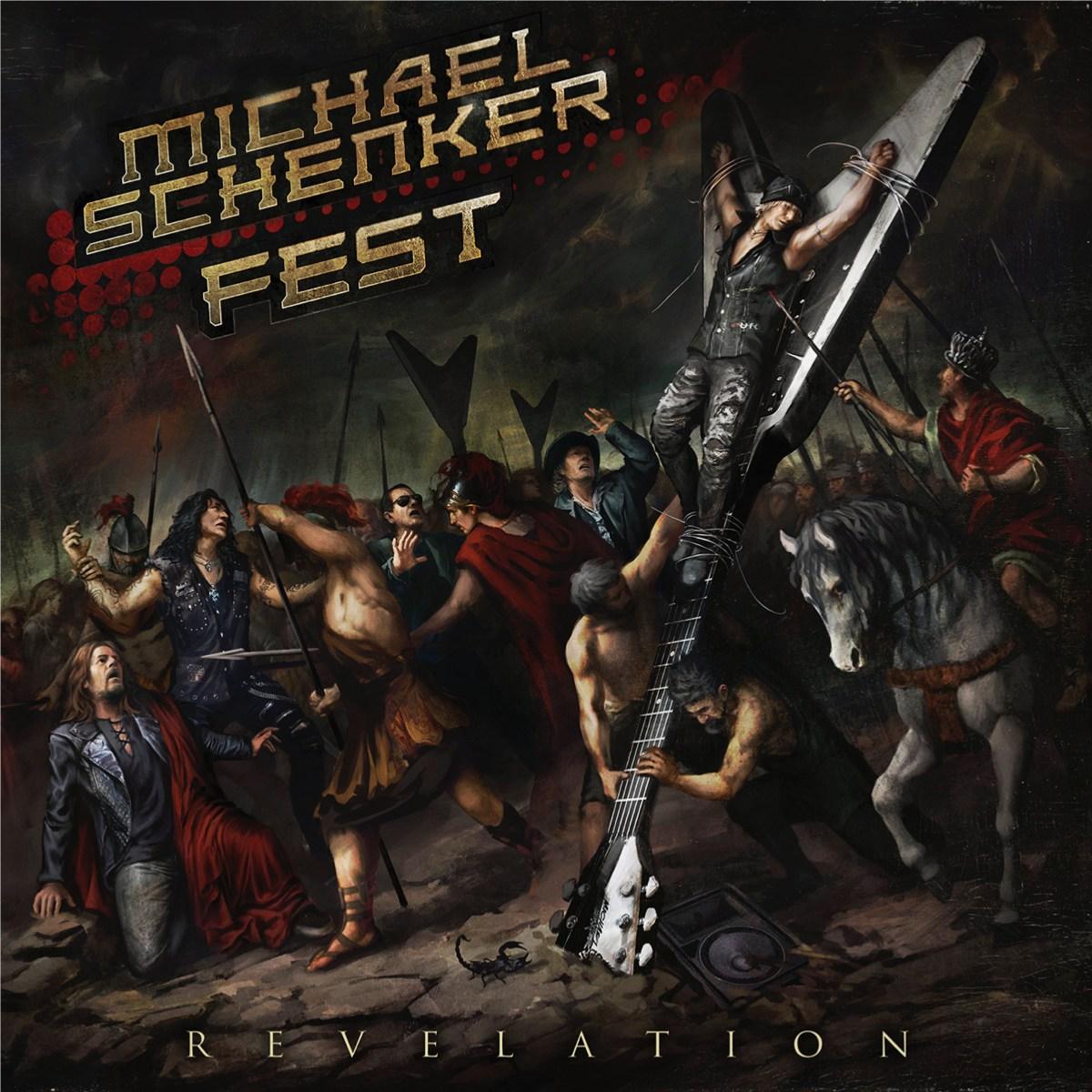 Une pochette spectaculaire pour le nouveau MICHAEL SCHENKER FEST ! Michae11