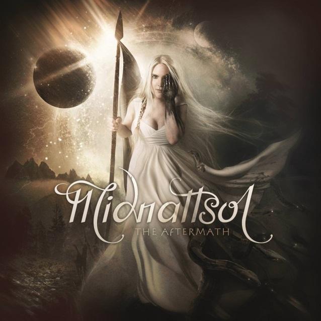 MIDNATTSOL The Aftermath (2018) Metal Symphonique Nouveau groupe de LIV KRISTINE Midnat10