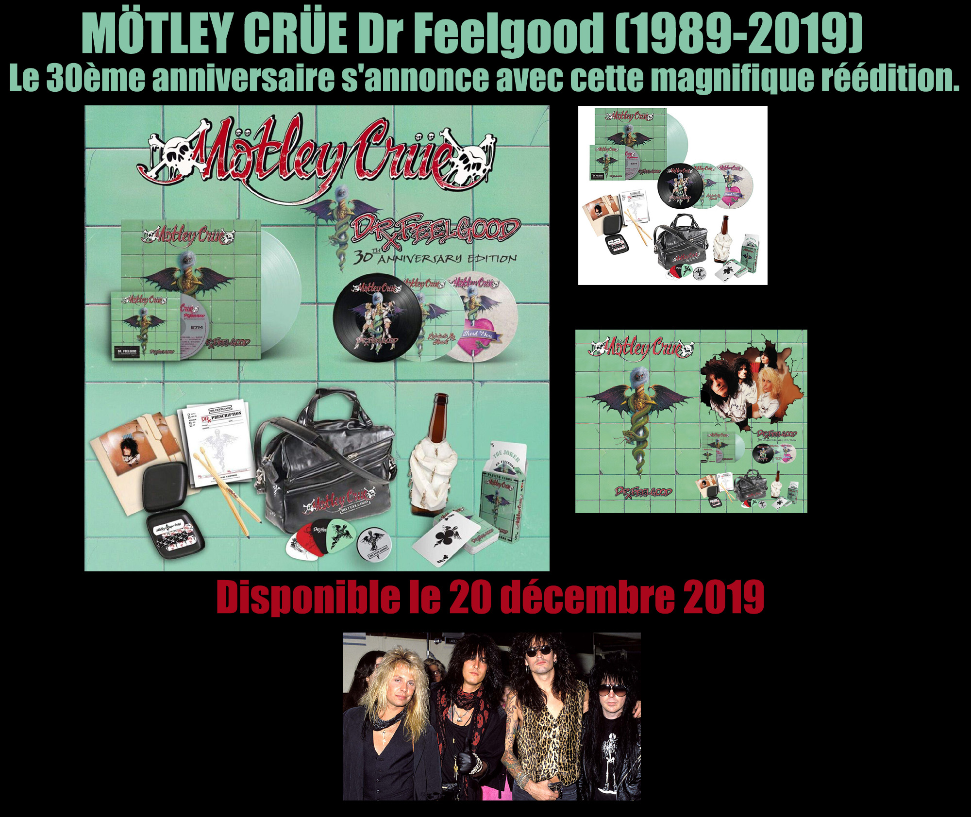 MOTLEY CRUE 30ème anniversaire Dr Feelgood ... Motley11