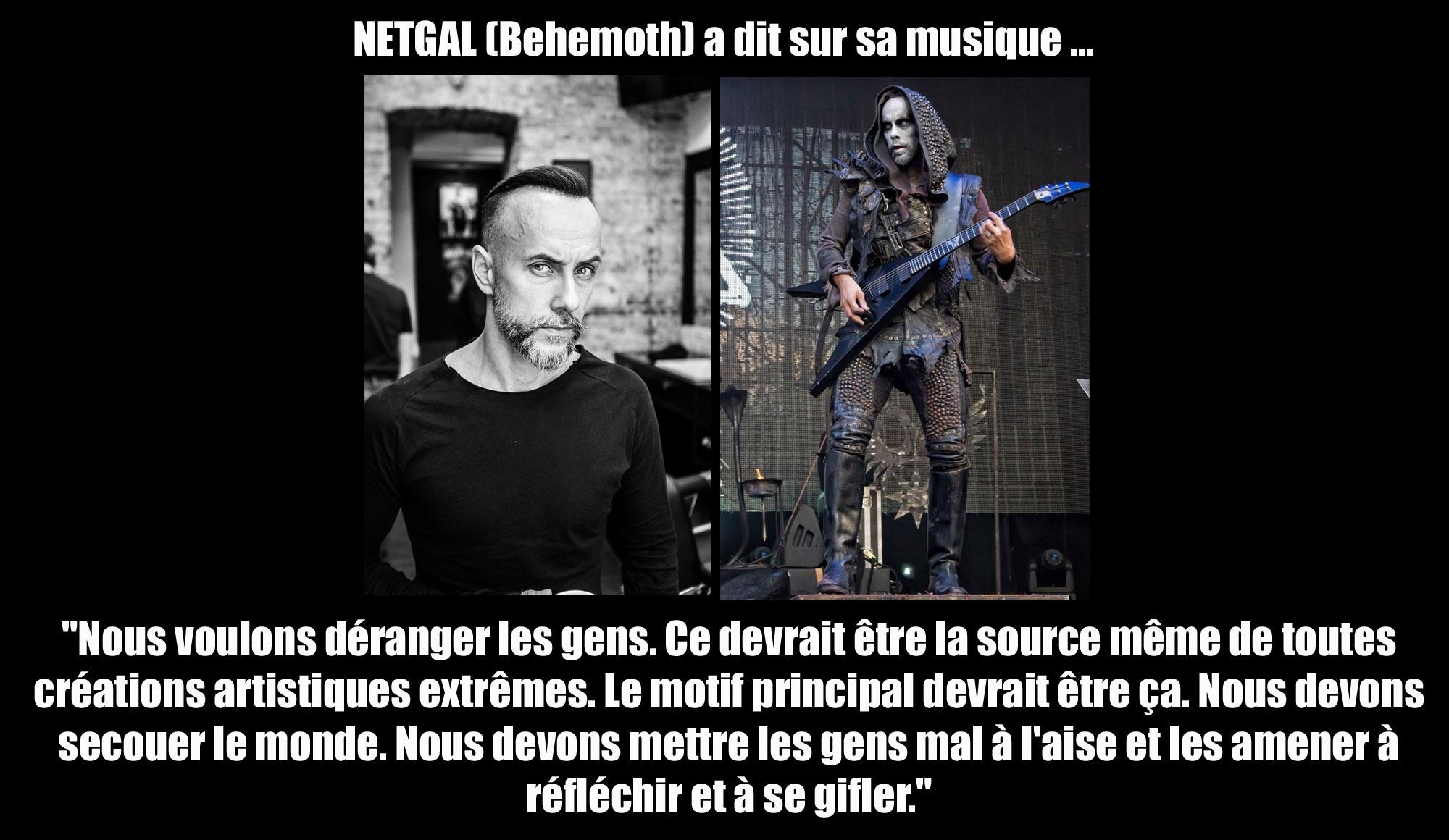NERGAL (Behemoth) a dit sur ... la création artistique extrême Nergal10