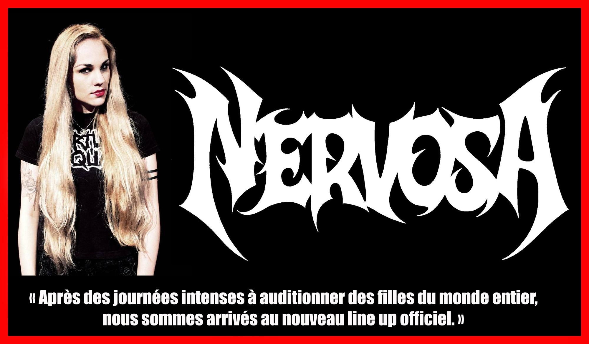 NERVOSA a annoncé sa nouvelle formation Nervos14