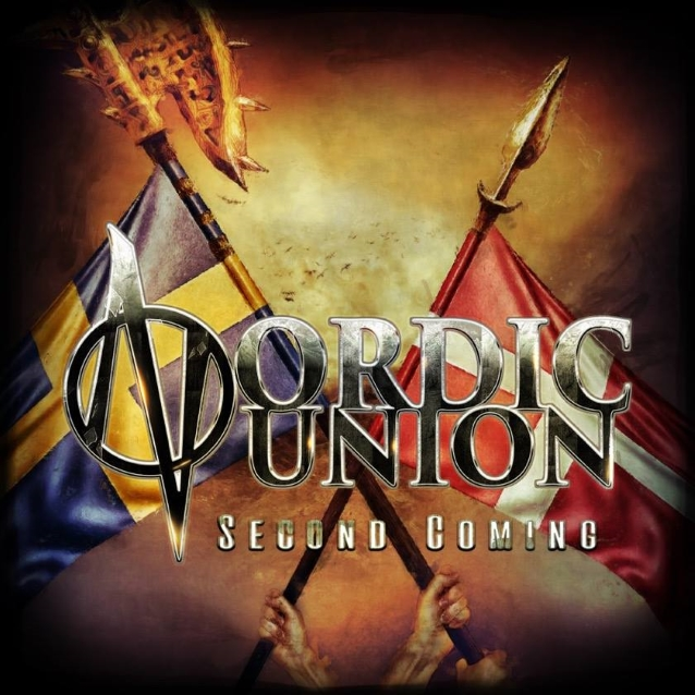 NORDIC UNION Second Coming (2018) Heavy Metal (Danemark et Suède)  Nordic10