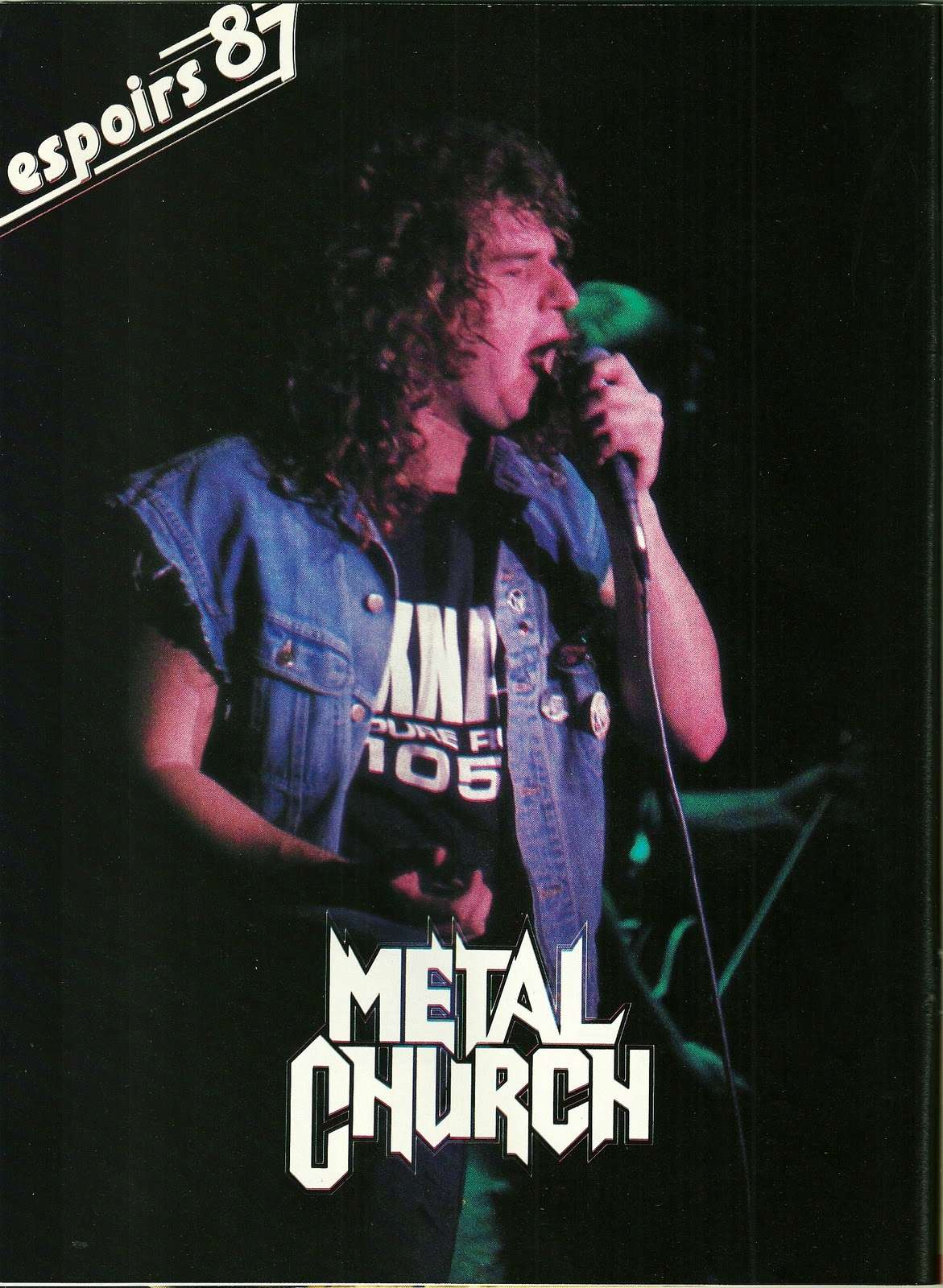 METAL CHURCH ... espoirs 87 (Enfer Magazine Février 1987) Archive à lire Numyri38