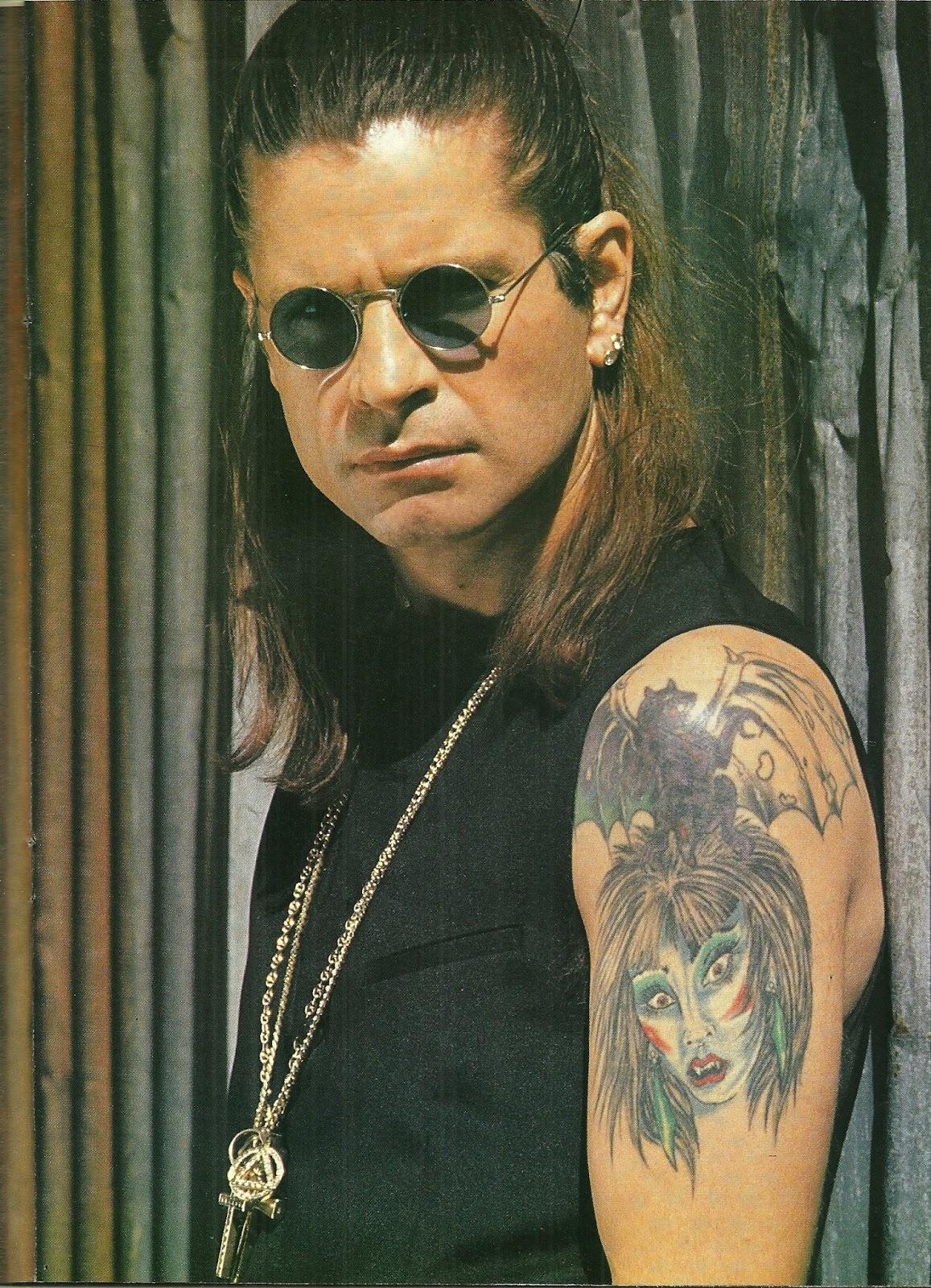 """OZZY OSBOURNE : Les yeux pour pleurer (""""Hard Rock Magazine"""" Novembre 1991) Archive à lire Numzor15"""